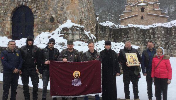 Монастырь Раваница в Сербии, в котором находятся мощи святого князя Лазаря