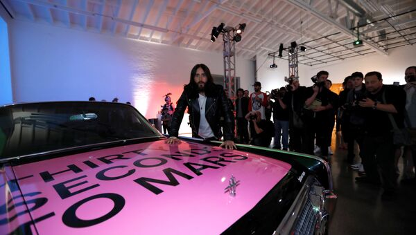 Презентация нового альбома Thirty Seconds To Mars AMERICA