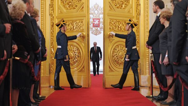 Церемония инаугурации президента РФ Владимира Путина. Архивное фото