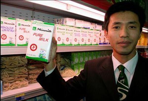 Сухое молоко с меламином обнаружил томский Роспотребнадзор