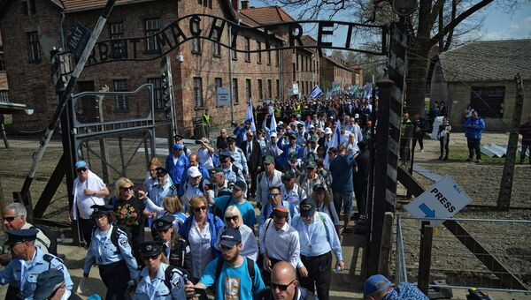 Марш жизни в Освенциме