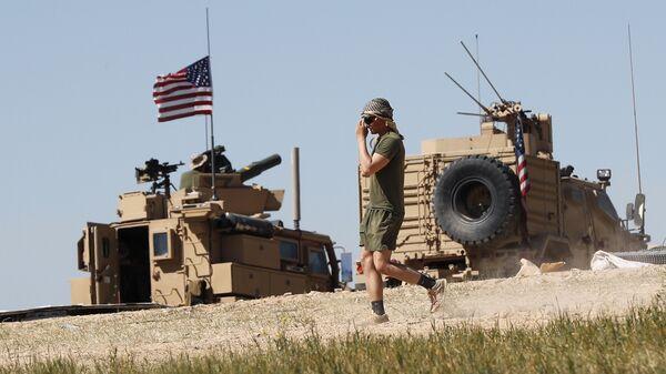 Американский военный в Сирии. Архивное фото