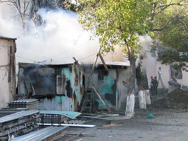 После взрыва около штаба российских миротворцев в Цхинвали