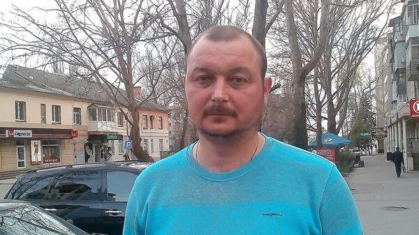 Капитан судна Норд Владимир Горбенко. Архивное фото