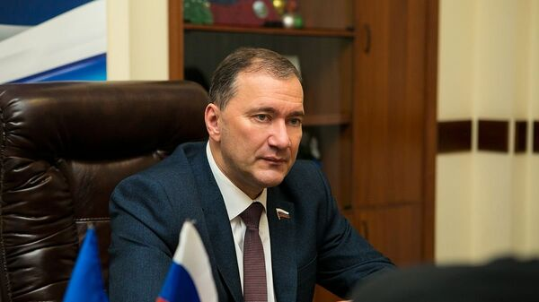 Депутат Государственной думы Российской Федерации Дмитрий Белик