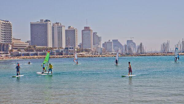 Серфинг в Тель-Авиве