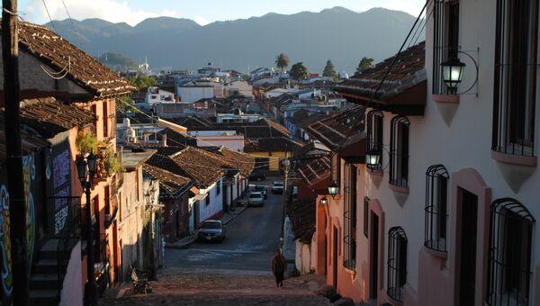 Город Сан-Кристобаль-де-лас-Касас, штат Чьяпас, Мексика