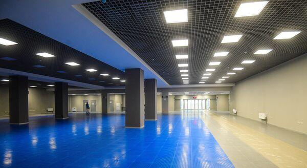 Микст-зона на стадионе Самара Арена