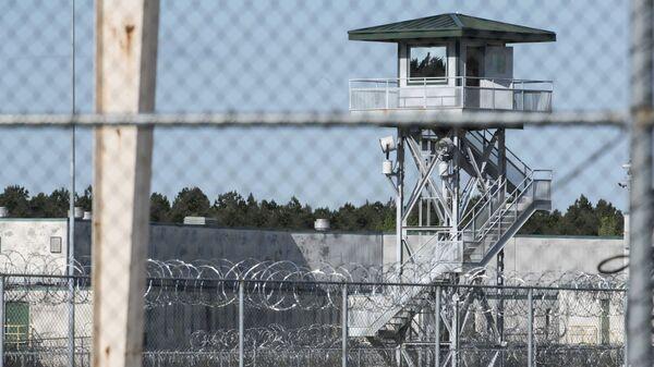 Исправительное учреждения Lee Correctional в штате Южная Каролина, где произошли столкновения. 16 апреля 2018