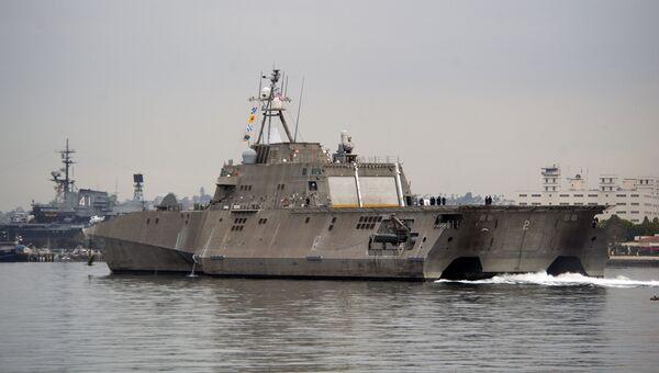 Прибрежное боевое судно ВМФ США Independence, Архивное фото