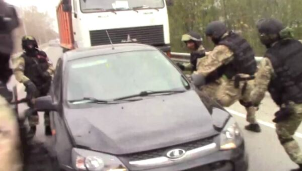 Задержание сотрудниками ФСБ РФ членов  международной террористической организации в Ростовской области