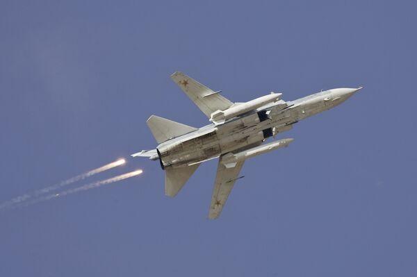 Самолет Су-24. Архив