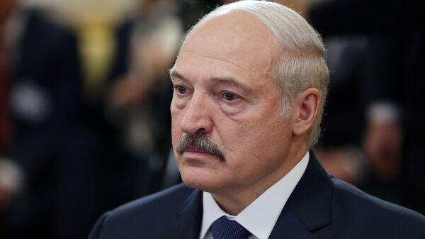 Президент Республики Беларуссии Александр Лукашенко