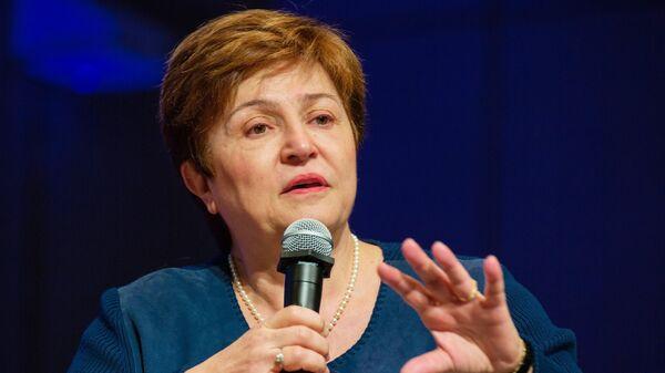 Главный исполнительный директор Всемирного банка Кристалина Георгиева