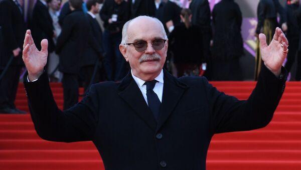 Председатель Союза кинематографистов России, режиссер Никита Михалков на церемонии открытия 40-го Московского международного кинофестиваля