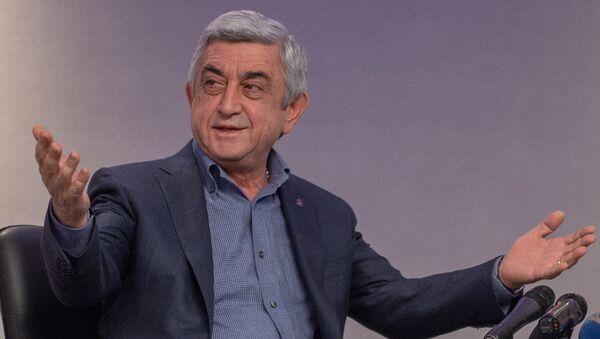 Премьер-министр Армении Серж Саргсян