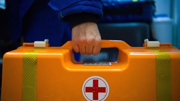 Аптечка на подстанции скорой и неотложной медицинской помощи