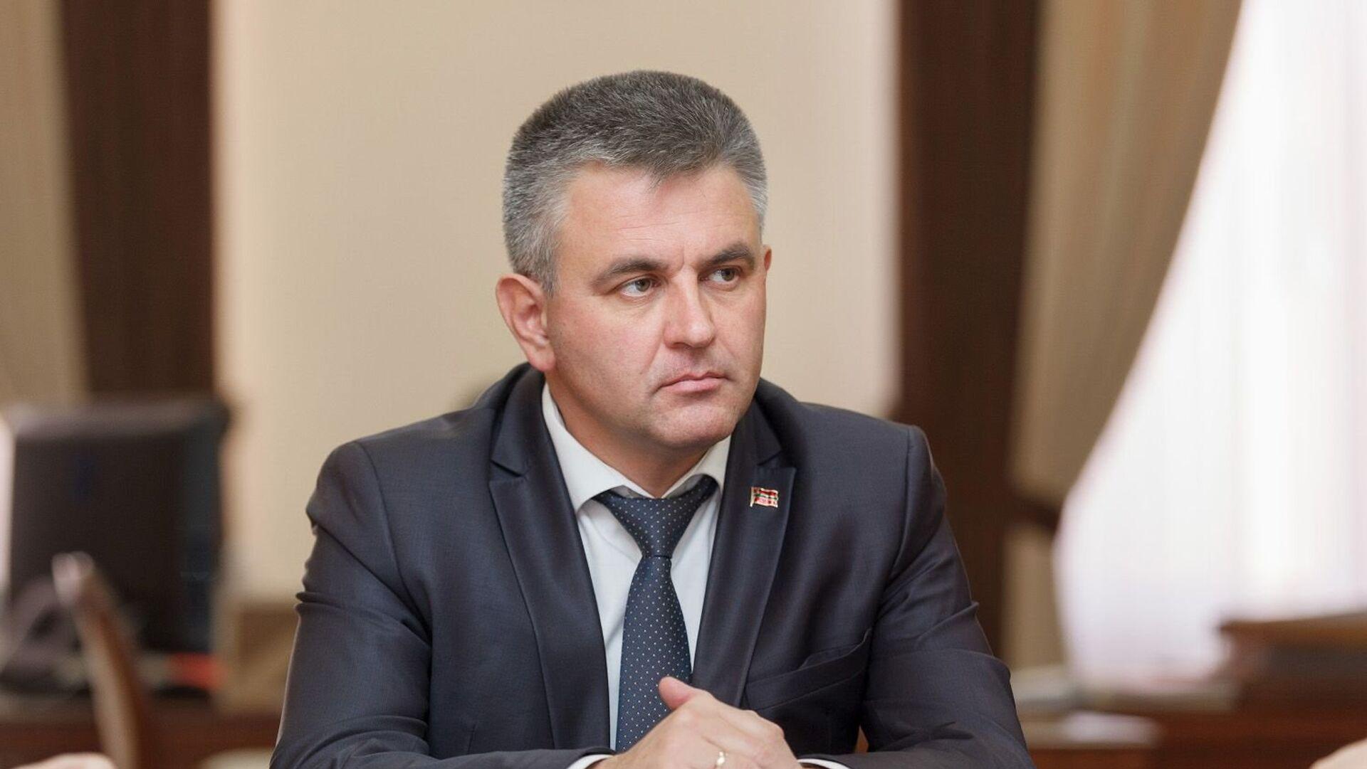 Глава Приднестровья прибыл в Москву