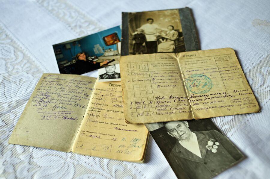 Архивные документы, хранящиеся в семье Калинкиных-Кокоревых