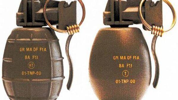 Ручные гранаты LU 213 (слева) и LU 216 (справа)