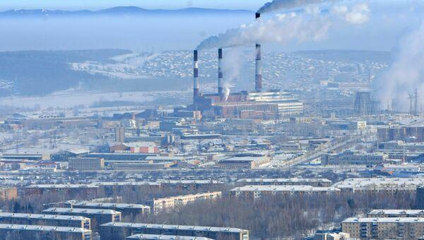 Город Кумертау, Республика Башкортостан. Архивное фото