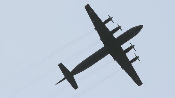 Пятый серийный модернизированный самолет Ил-38Н Федор Золотухин