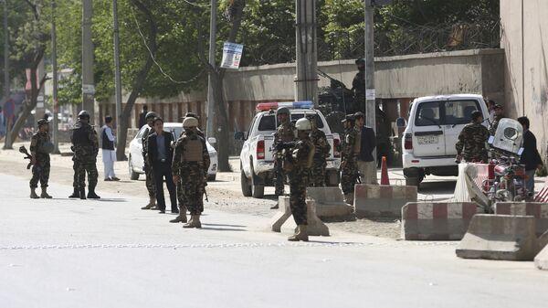 Центр Афганистана подвергся бомбардировке