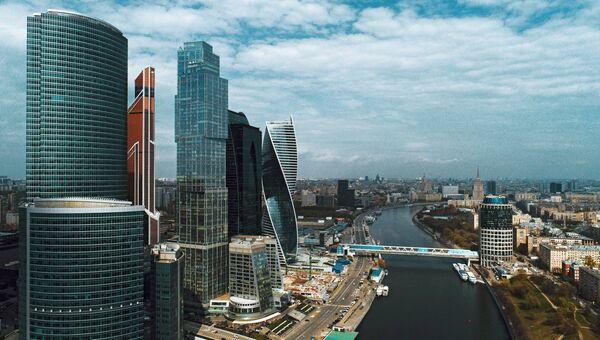 Московский международный деловой центр Москва-Сити в Москве. Архивное фото