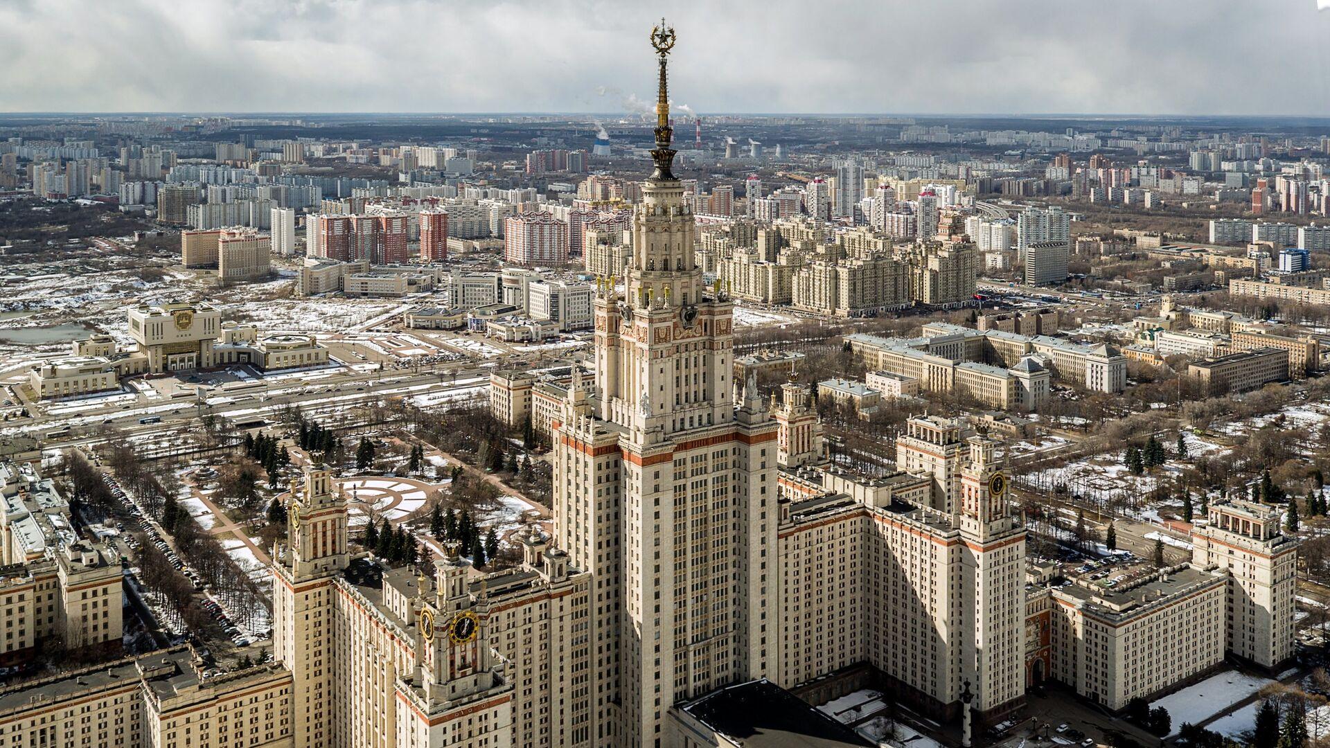 Главное здание МГУ - РИА Новости, 1920, 09.09.2020