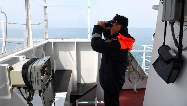 Береговая охрана Пограничной службы ФСБ России по Республике Крым. Архивное фото