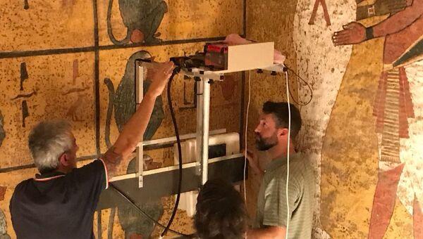 Ученые не нашли потайных комнат в гробнице Тутанхамона