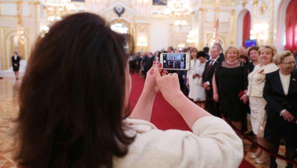 Церемония инаугурации президента России Владимира Путина. 7 мая 2018