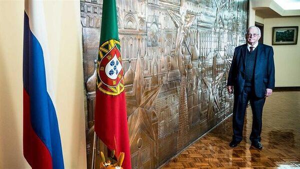 Посол России в Португалии Олег Белоус. Архивное фото