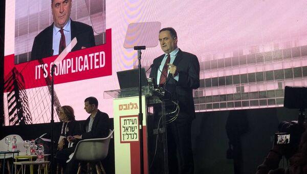 Министр разведки и транспорта Израиля Исраэль Кац
