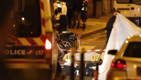Нападение на прохожих в Париже. 12 мая 2018 года