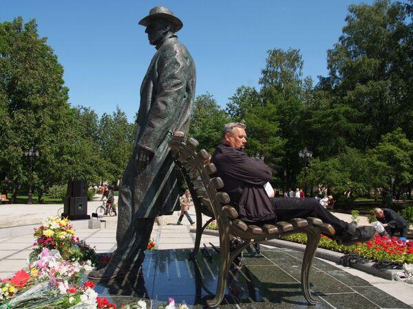 Памятник Сергею Рахманинову открылся в Великом Новгороде
