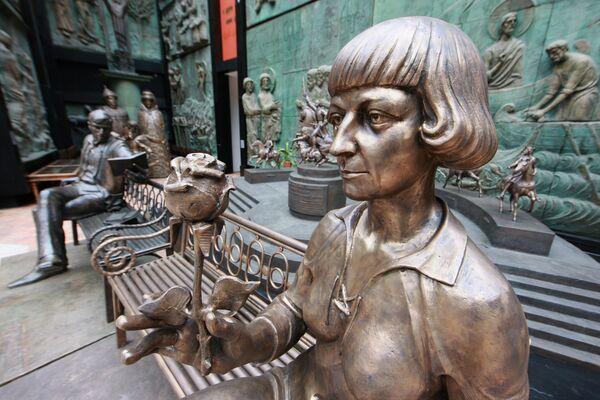 Зураб Церетели представил в Москве памятник Марине Цветаевой