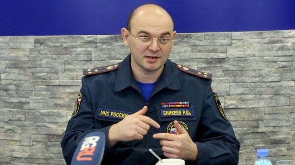 Главный государственный инспектор по пожарному надзору МЧС Ринат Еникеев