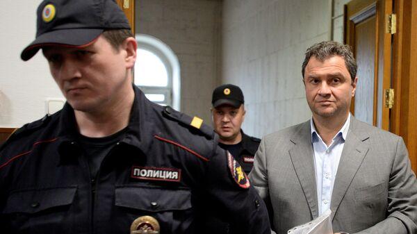 Григорий Пирумов в Басманном суде Москвы