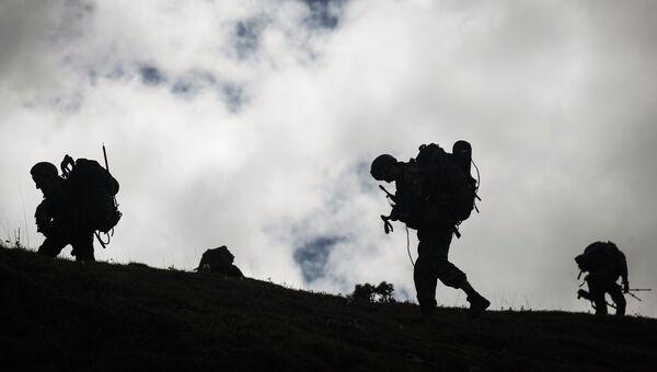 Военнослужащие ЮВО. Архивное фото