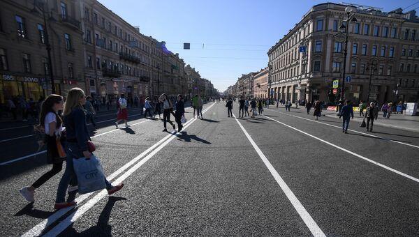 Невский проспект. Архивное фото