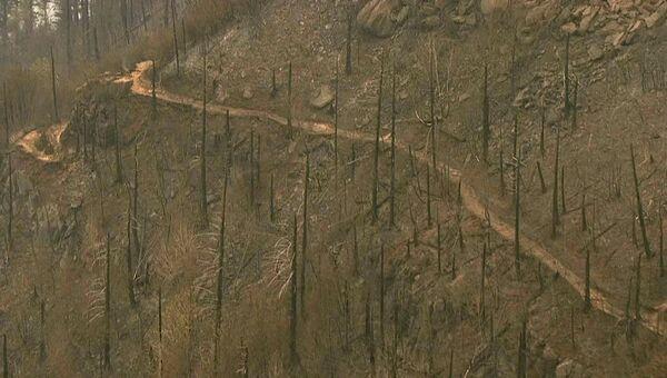 Последствия пожара в Орегоне. 7 сентября 2017