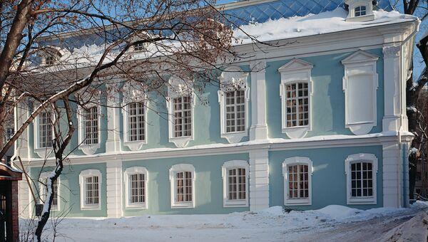Дом-дворец князей Долгоруких в Колпачном переулке 6.