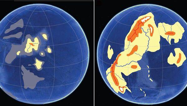 Так Земля выглядела примерно 2,5 и 2,4 миллиарда лет назад