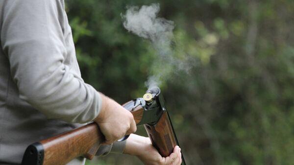 Охотничье ружье. Архивное фото