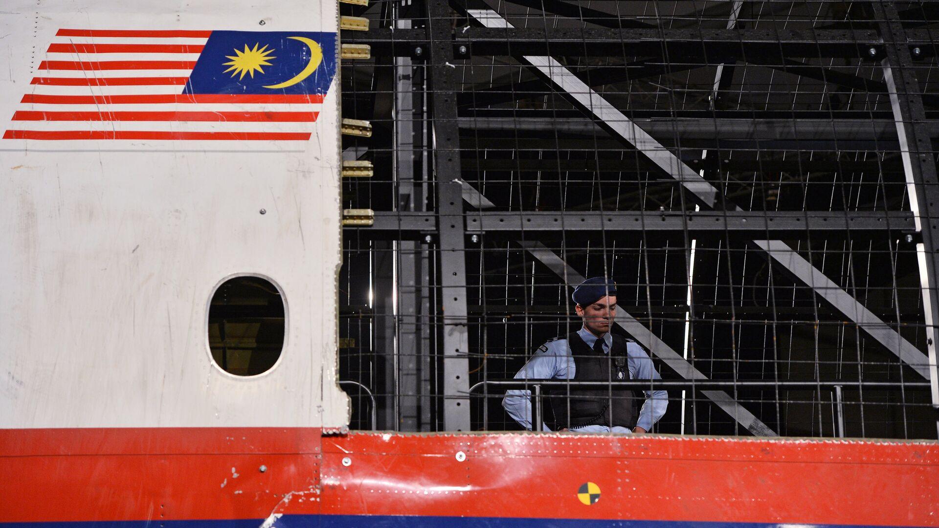 Представление доклада об обстоятельствах крушения лайнера Boeing 777 Malaysia Airlines (рейс MH17) в Нидерландах - РИА Новости, 1920, 06.06.2018