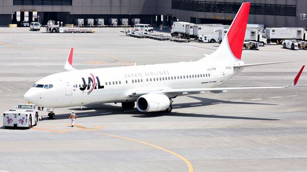 Самолет японской авиакомпании JAL. Архивное фото