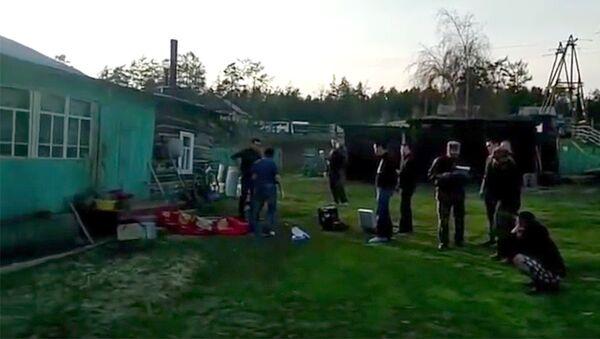 Место убийства 5 человек в Якутии. Архивное фото