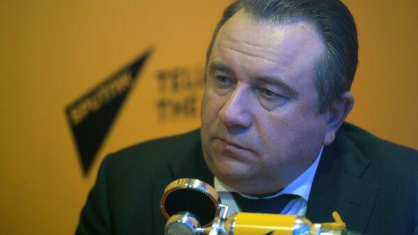 Президент АО Объединенная судостроительная корпорация Алексей Рахманов