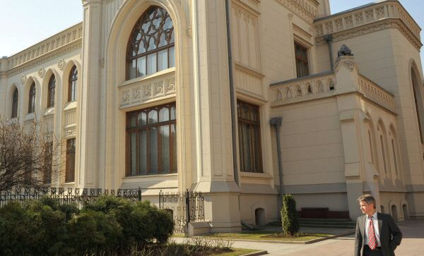 Бывший особняк Саввы Морозова на Спиридоновке. Сейчас в нем находится приемная министерства иностранных дел РФ